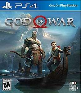 God of War (PS4 Disc) voor €21,45 @ Amazon.com