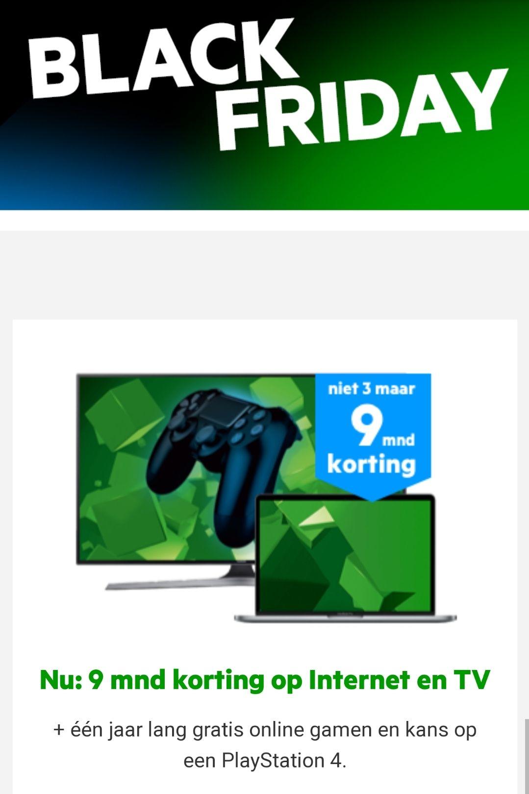 9 maanden korting op de Alles-in-1 pakketten van KPN en mooie PlayStation cadeaus