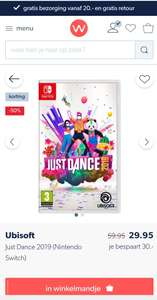 Just Dance 2019 (Nintendo Switch) Wehkamp