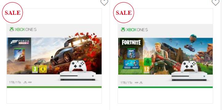 Xbox one S 1 TB Bundle, inclusief Fortnite Bundle of Forza Horizon 4 (digitale volledige versie)