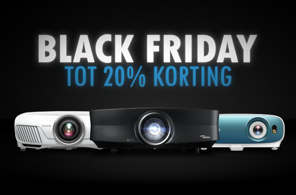 Black Friday Deals - Tot 20% korting @ beamerwebwinkel.nl