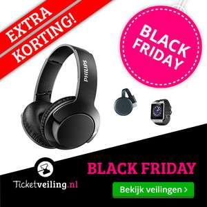 [Black Friday] Geen administratiekosten bij Producten en Fashion @ Ticketveiling.nl