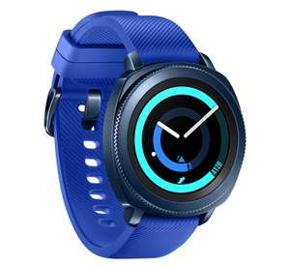 Samsung Gear Sport Blauw @ Coolblue