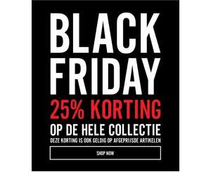 Black Friday @ The Sting > 25% korting op alles