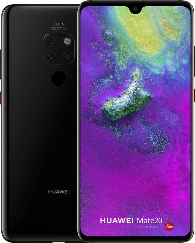 Huawei Mate 20 voor €599 (Mate 20 Lite - €269) @ Mobiel.nl/GSMWijzer.nl