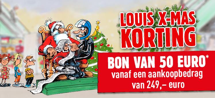 €50 korting bij een minimale bestelwaarde van €249 op het gehele assortiment bij Louis