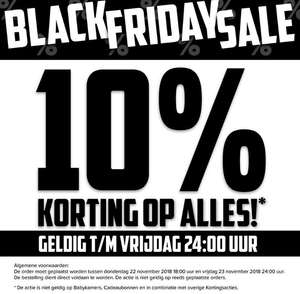[Black Friday] Baby-Dump - 10% korting op alles