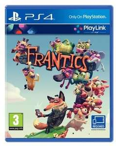 Frantics (PS4) voor €9,88 @ Gameshop Twente
