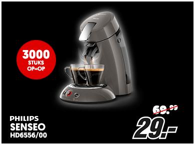 Philips Senseo Original HD6556/00 Grijs + gratis €50 cadeaupakket voor €29 @ Media Markt