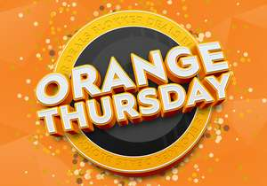ORANGE THURSDAY bij Blokker