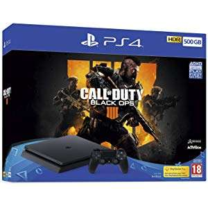 PS4 Slim 500GB + Fifa 19 of BO4 [Amazon.co.uk]