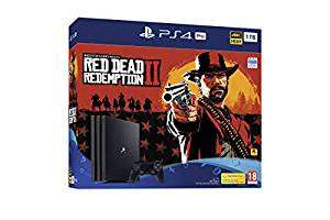 Playstation 4 Pro + Red Dead Redemption 2