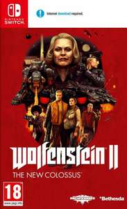 Wolfenstein 2 The New Colossus voor Switch