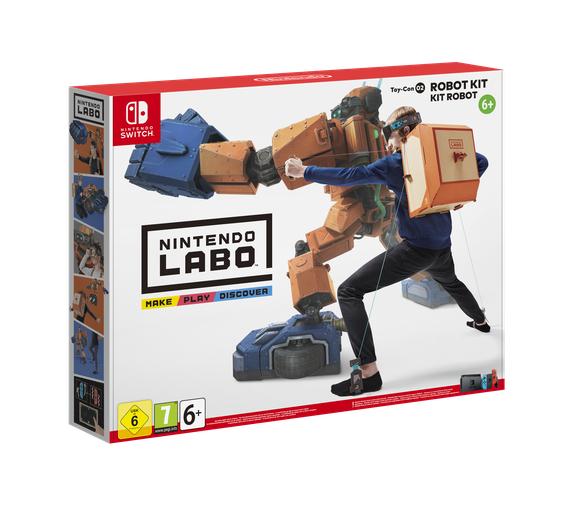 Nintendo Labo (Robotpakket), Nintendo Switch voor €36,95 @ Coolshop
