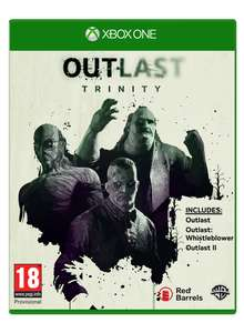 Outlast Trinity (Xbox One) voor €12,50 @ Coolshop