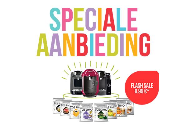 [Update] Bosch Tassimo Fidelia / Amia voor €9,99 bij aankoop van 8 T-disc verpakkingen @ Tassimo Shop