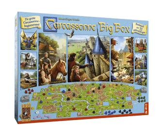 Carcassonne Big Box + andere 999 games zeer goedkoop