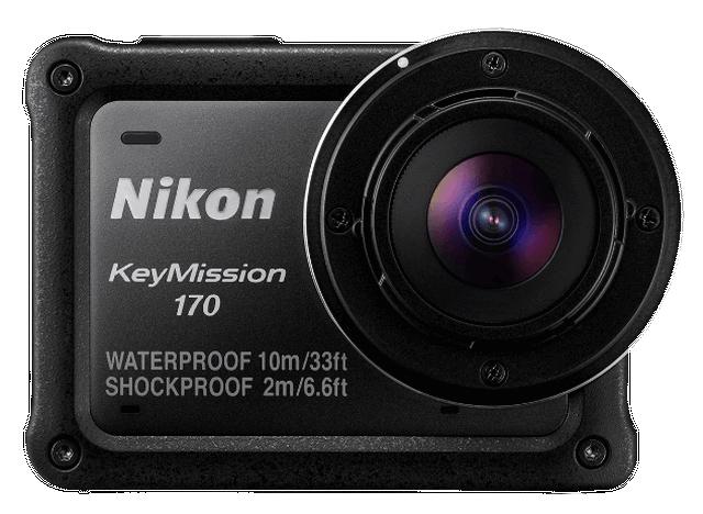 Nikon Keymission 170 Camera 4K met stabilisatie @ 99 euro ipv 400 euro.