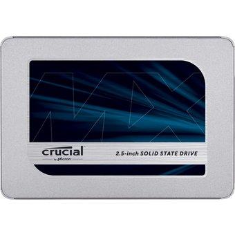 "Crucial MX500 SSD, 2TB, 2.5"""
