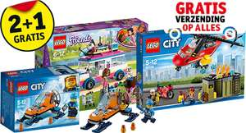 Black friday :Lego (Friends) nog goedkoper dan 2+1 gratis bij kruidvat