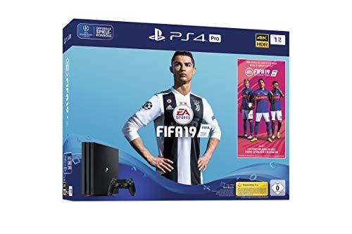 PlayStation 4 Pro + FIFA 19 voor €338,80 @ Amazon.de