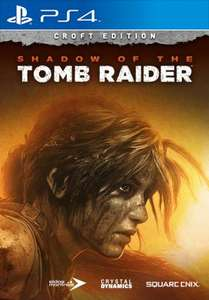 Shadow of the Tomb Raider Croft Edition (PS4 en Xbox One) voor €49,99 @ Square Enix Store