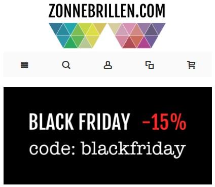 15% korting bij zonnebrillen.com