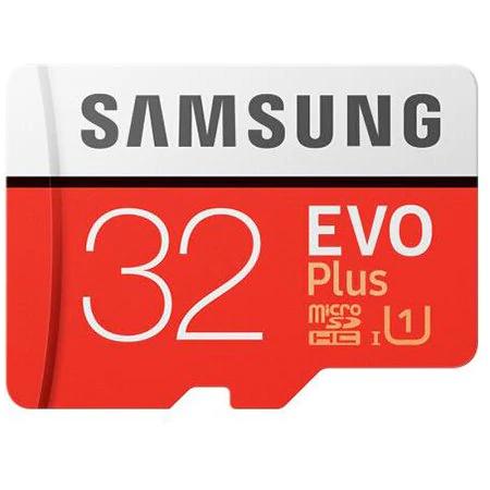 Samsung EVO Plus 32GB microSDHC kaart voor €3,63 @ Rosegal.com