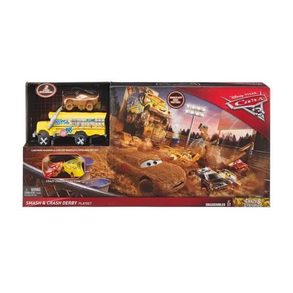 Disney Pixar Cars Crazy 8 Smash & Crash Derby