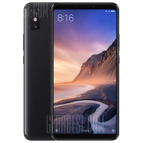 Xiaomi Mi Max 3 4GB/64GB smartphone met 5,500 mAh accu voor €213 @ Gearbest.com
