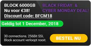 Usenet Block 6000GB nu €38,- tot 1 december