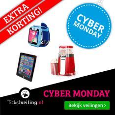 Cyber Monday: geen administratiekosten à €5 @ Ticketveiling.nl