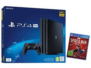 Playstation 4 Pro + Spiderman €347,77 @ Amazon.de