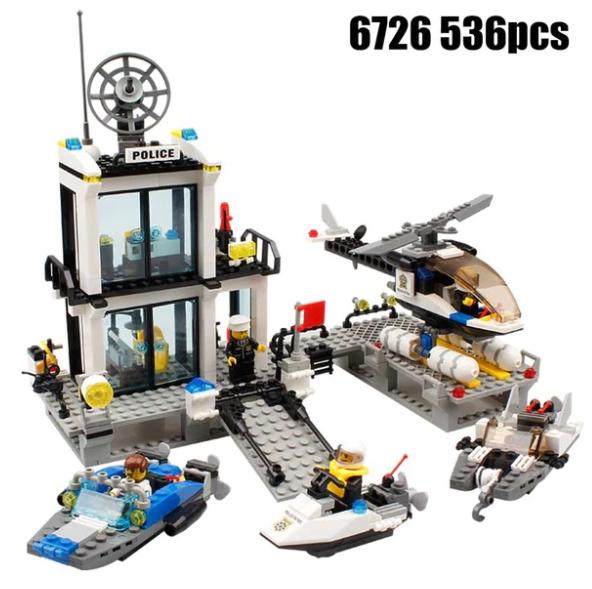 LEGO-imitatie politiekantoor voor maar €12,74 @ Aliexpress.com