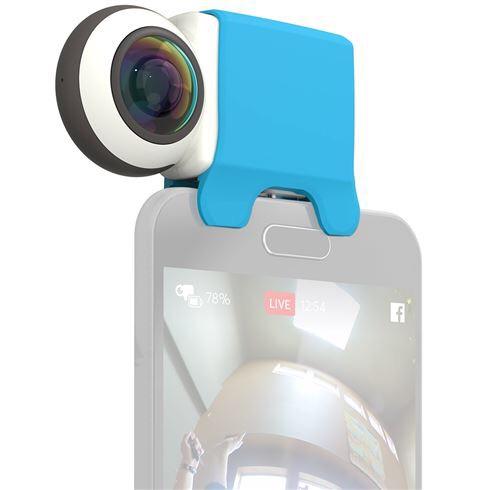 GIROPTIC IO 360 graden Camera voor IOS en Android + gratis cursus videografie