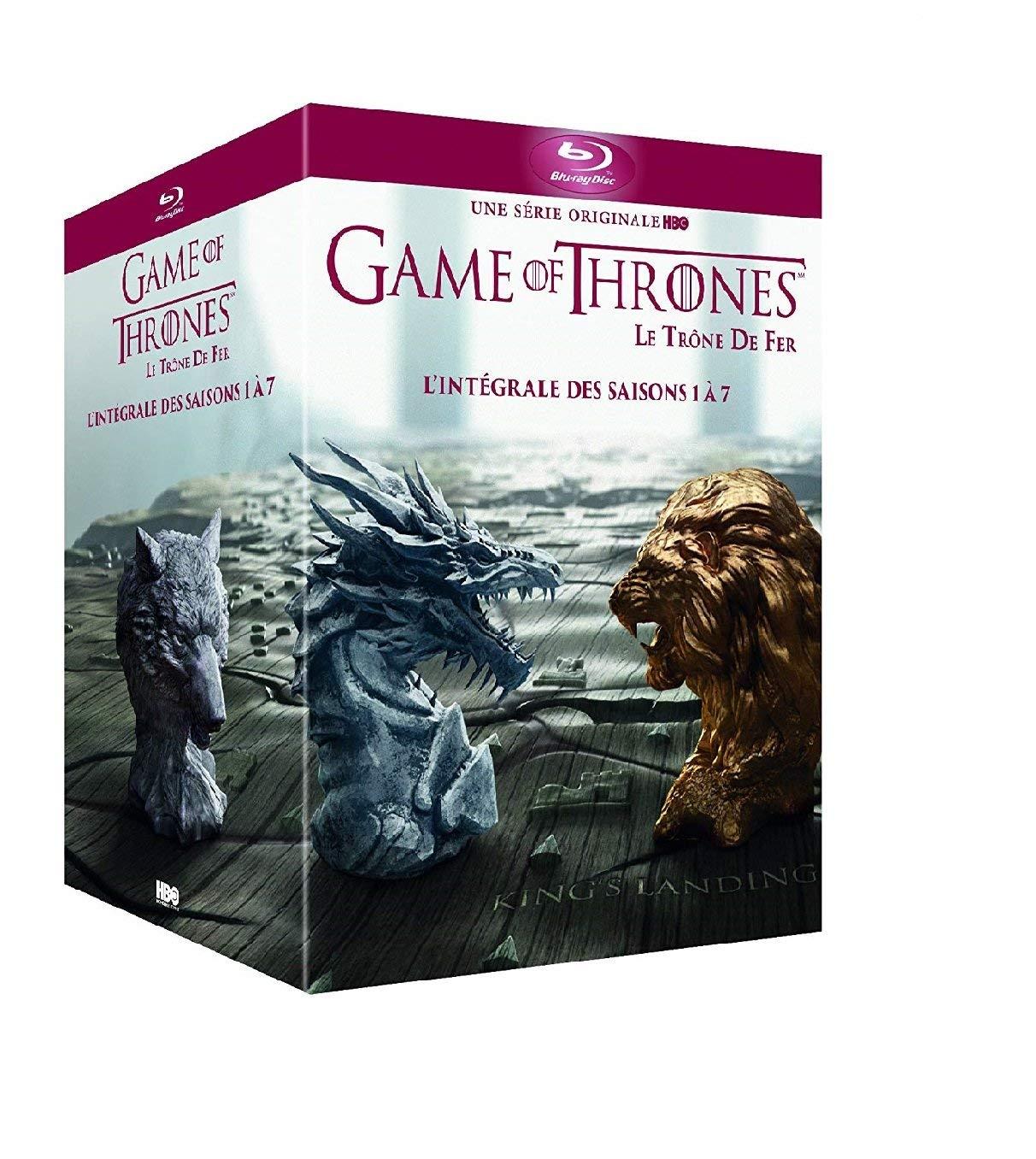 Game Of Thrones Blu-Ray Boxset Seizoen 1 t/m 7 voor 39,99 - DVD versie 29,99