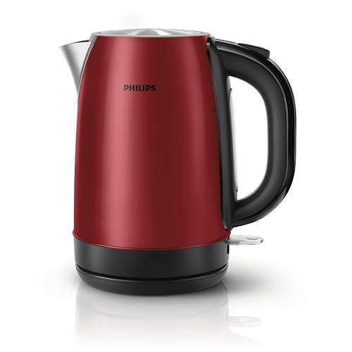 [50% KORTING] Waterkoker Philips HD9322/60 / 1,7 liter / 2200 W
