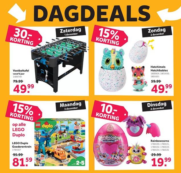 Intertoys Dagdeals 26-11 t/m 4-12