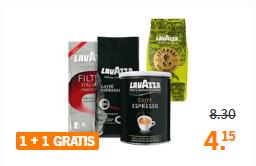 [v.a. maandag] LavAzza koffie 1 + 1 gratis @ AH