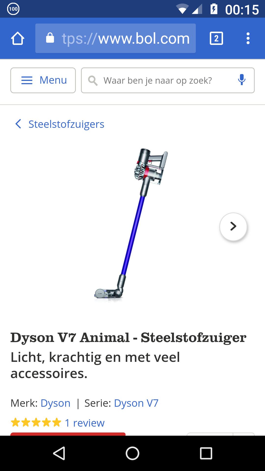 Dyson V7 Animal stofzuiger
