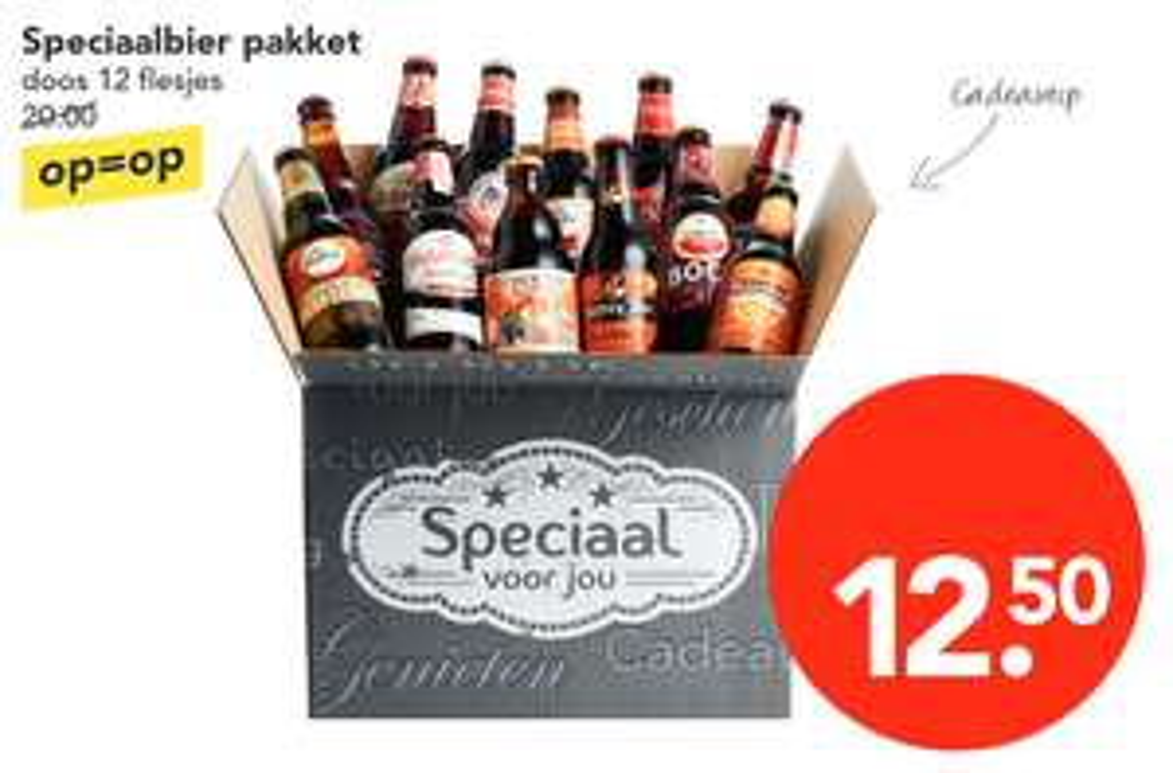 Bockbier pakket met 12 bockbiertjes voor €12,50 @ Deen (alleen in de winkel)