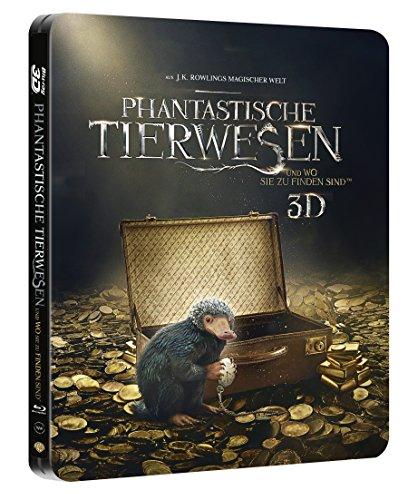 Phantastische Tierwesen und wo sie zu finden sind 3D Limited Steelbook Edition (3D Blu-ray + Blu-ray + UV Copy) für 14,99€ (Amazon)