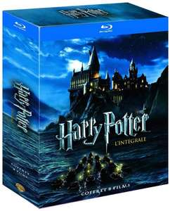 Harry Potter Blu-Ray Boxset (8 films) @ Amazon.fr