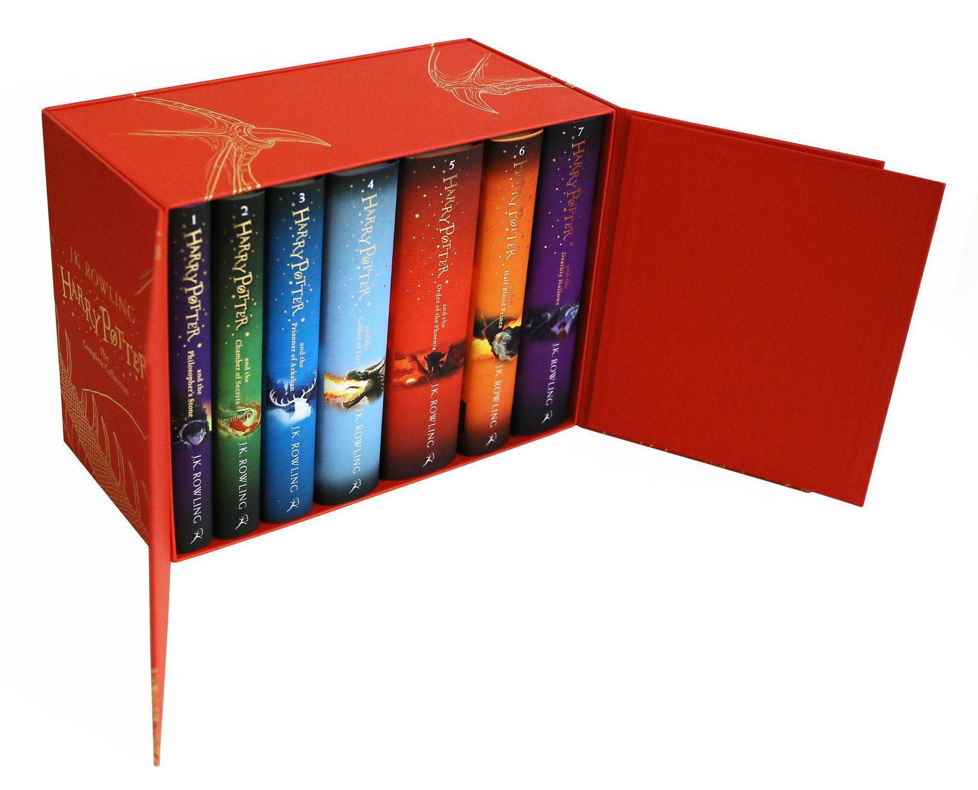 Harry Potter box set complete collection 1-7 UK  childrens hardback, €81,90