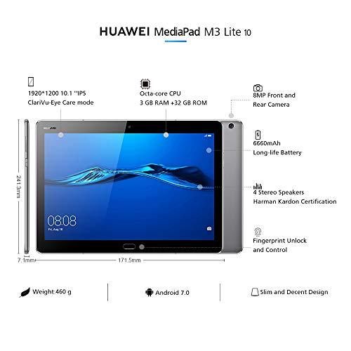 Huawei MediaPad M3 tablet voor €169,99 @ Amazon.de