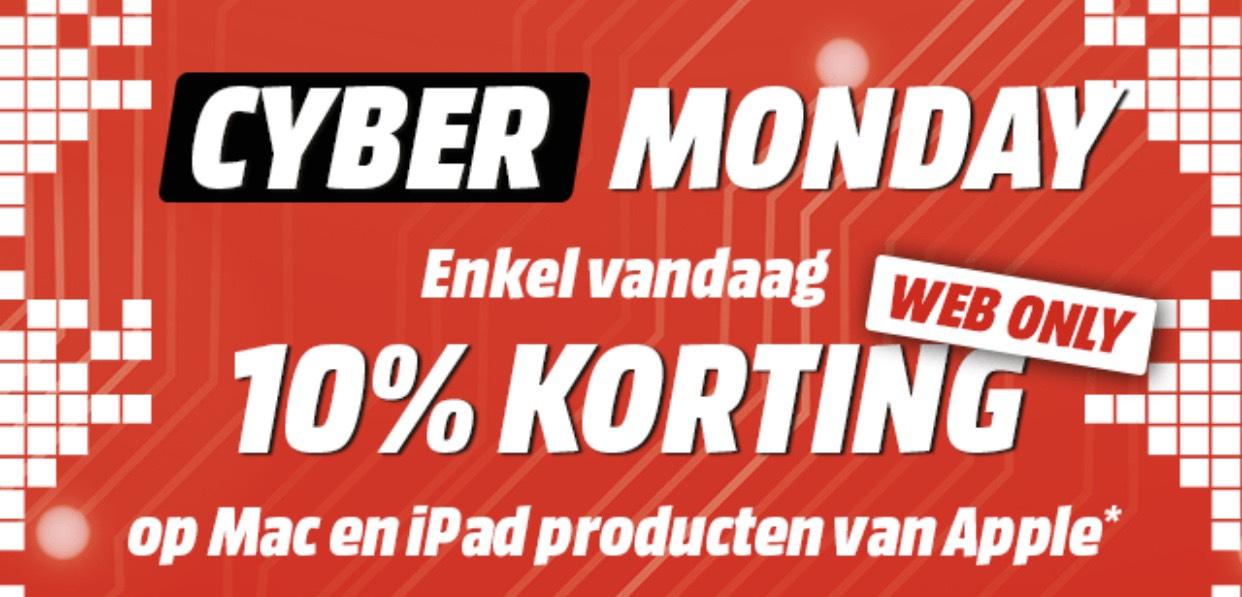 [BE] 10% korting op Apple Mac & iPads