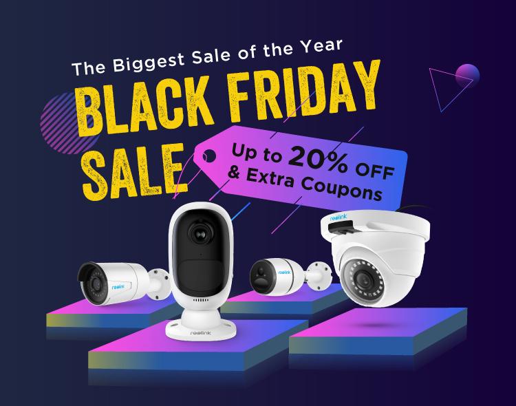 Reolink Black Friday Deals: Draadloze camera met 20% korting
