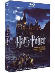 Harry Potter - Complete Collection (8 films) (Blu-ray) voor €20,74 @ Amazon.it