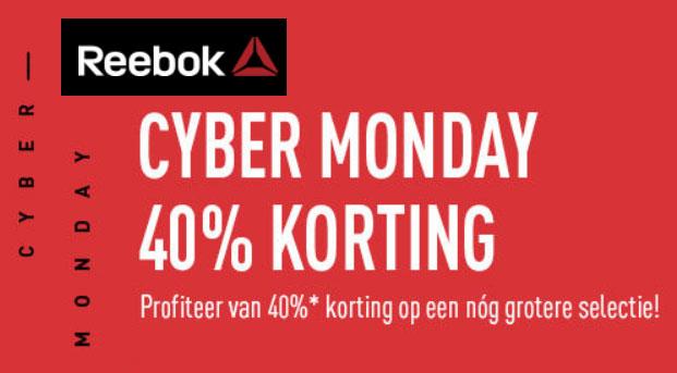 Code: 40% korting @ Reebok