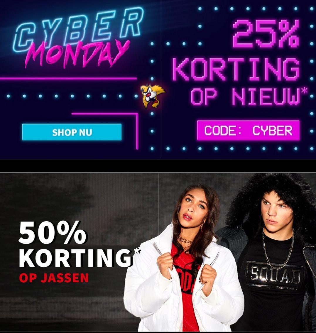 [Cyber Monday] CoolCat: 50% korting op jassen & 25% op nieuwe collectie
